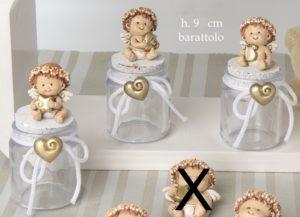 bomboniera battesimo angioletto