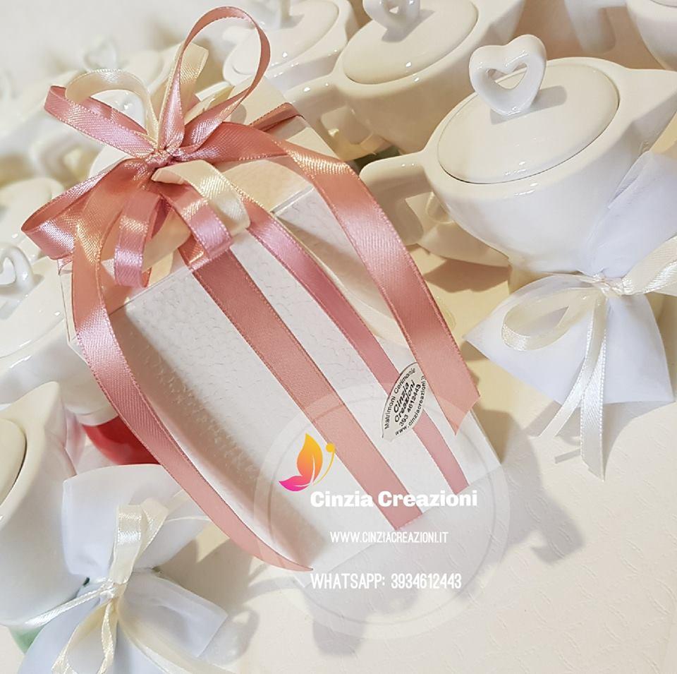 Bomboniera Matrimonio Natalizio : Confezionamento bomboniera piccola confezionamenti