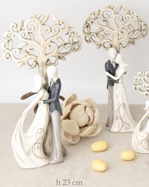 sposi stilizzati albero