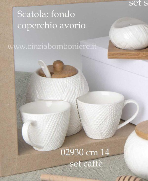 bomboniera set caffe
