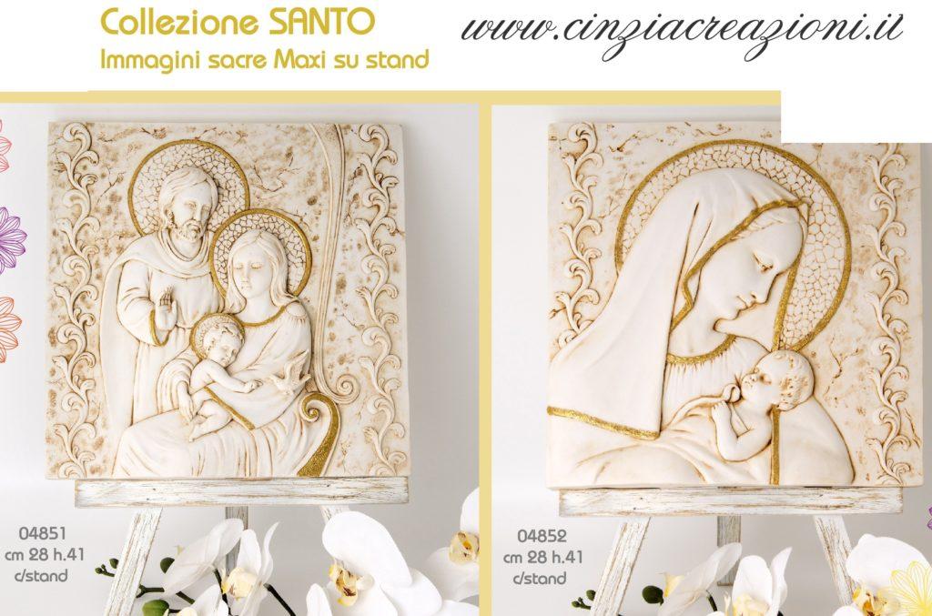 Bomboniera Comunione Cresima Sacra Famiglia Icona