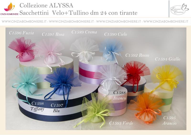 Sacchetti confetti colorati