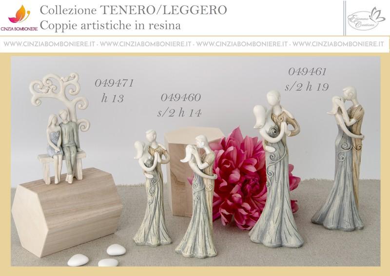 Sposi stilizzati statuina