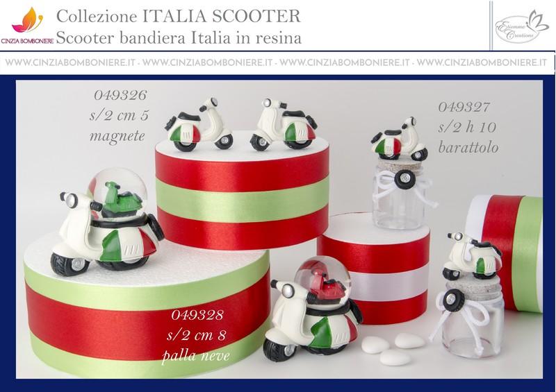 Vespa italia bomboniera