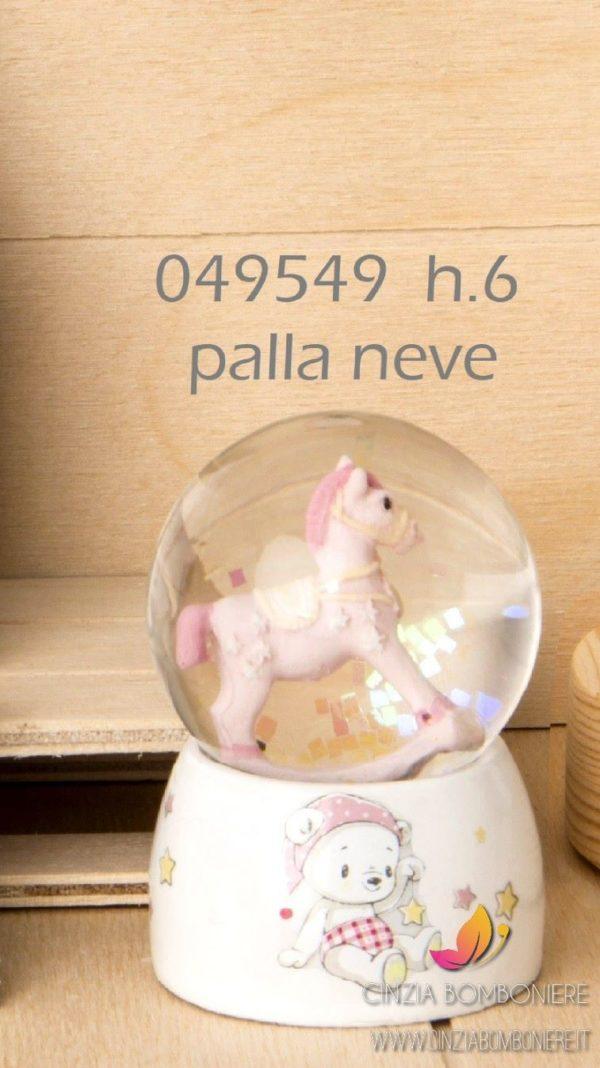 Palla neve Cavallino dondolo orsetto cb049549