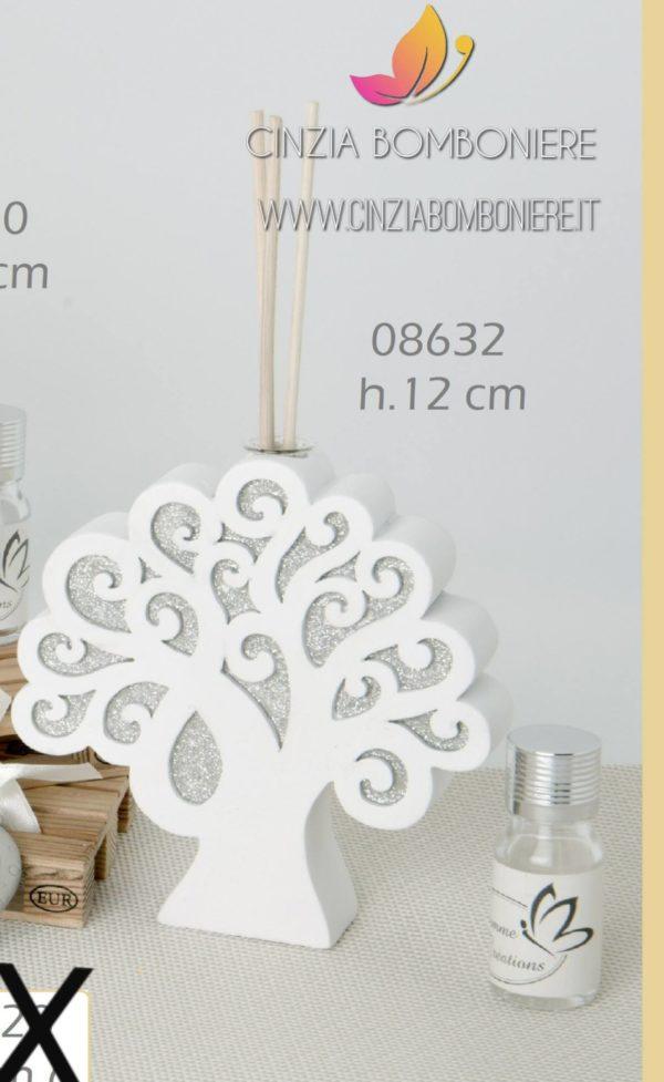 diffusore albero della vita argentato cb08632
