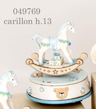 Carillon cavallo a dondolo 049769