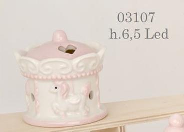 Carosello con cavallino rosa 03107