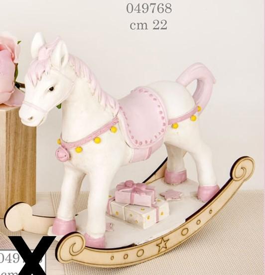 Cavallo a dondolo bimba 049768
