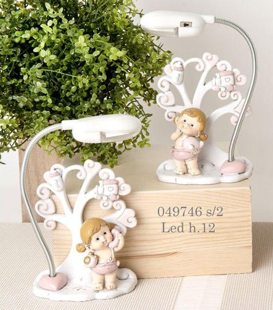 Lampada led albero della vita bimba 049746