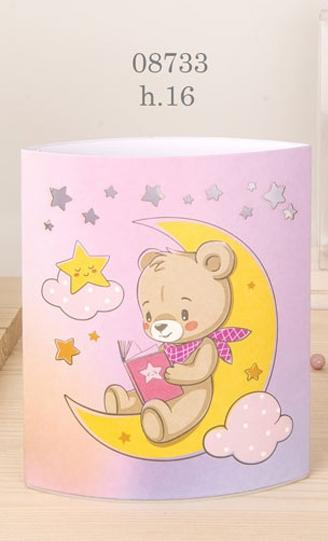 Lampada orsetto rosa 08733