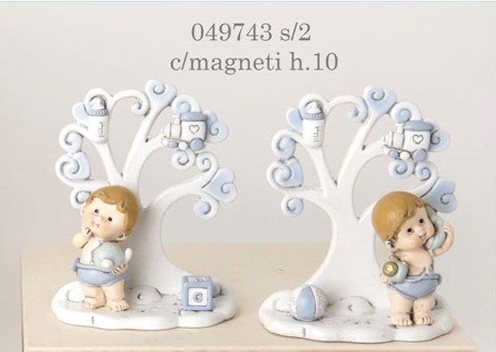 Magnete albero della vita con bimbo 049743