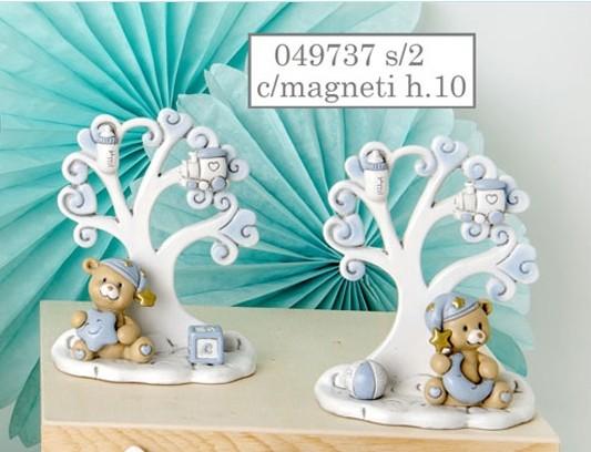Magnete albero della vita con orsetto 049737