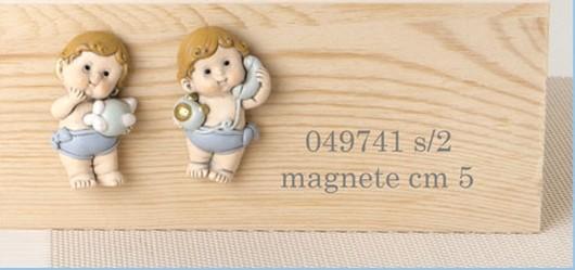 Magnete bimbi in resina 049741