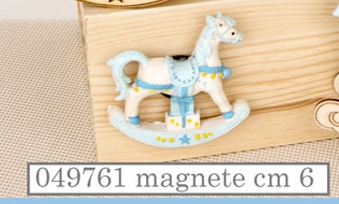 Magnete cavallo a dondolo 049761