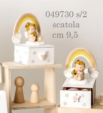 Scatolina angioletto bimba 049730