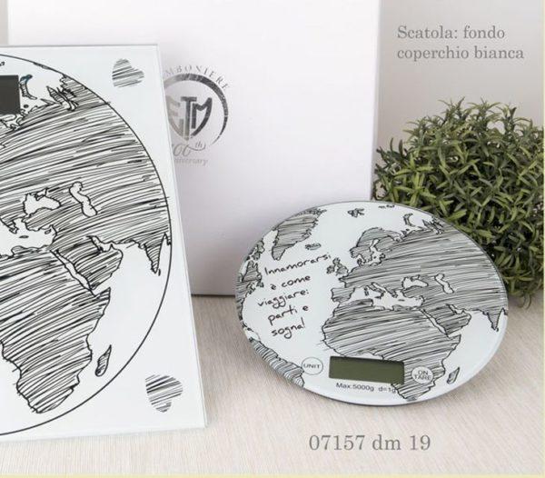 bilancia mondo in vetro 07157