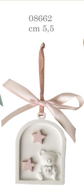 orsetto stelle rosa 08662