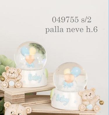 palla di neve orsacchiotto 049755