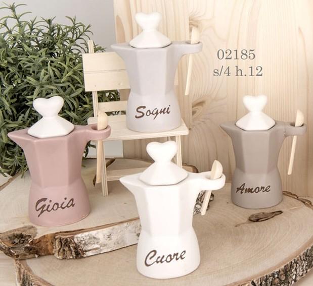 zuccheriere porcellana tema amore 02185