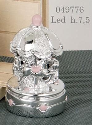 Giostra led rosa 049776