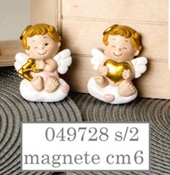Magnete angioletti bimba 049728