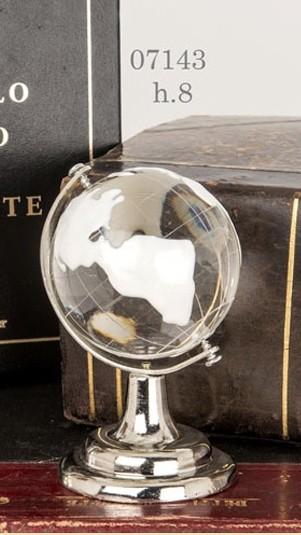 Mappamondo in vetro 07143