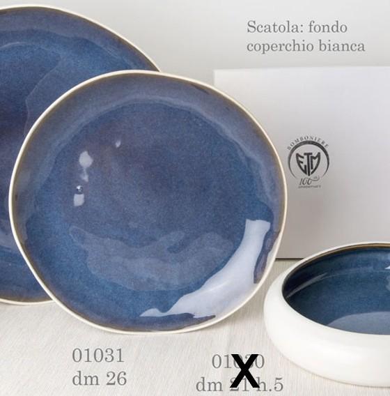 Piatto in porcellana 01031