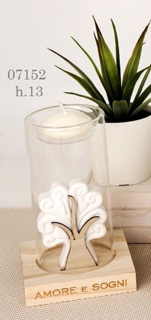 Porta candela albero della vita 07152