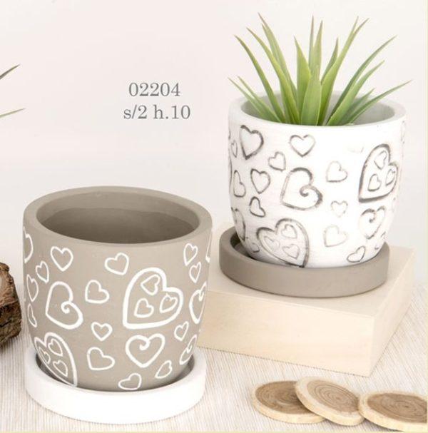 Porta piante terracotta 02204