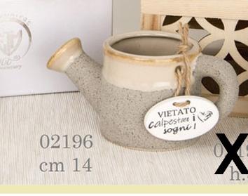 Vaso innaffiatoio porcellana 02196